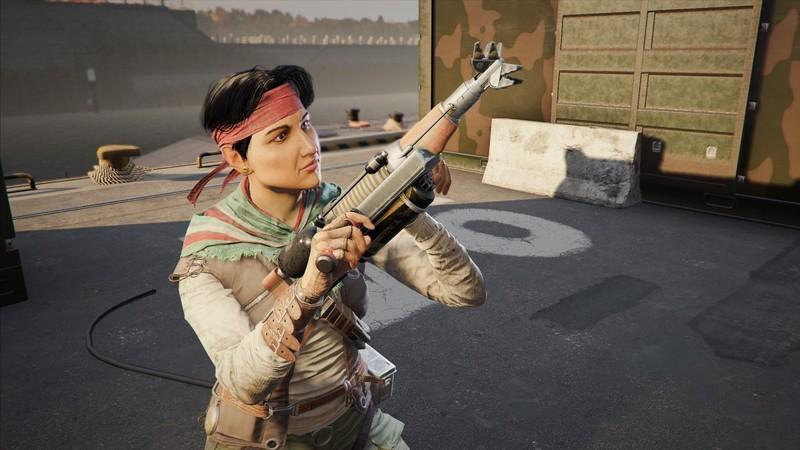 Amaru deploying Garra Hook in Rainbow Six Siege