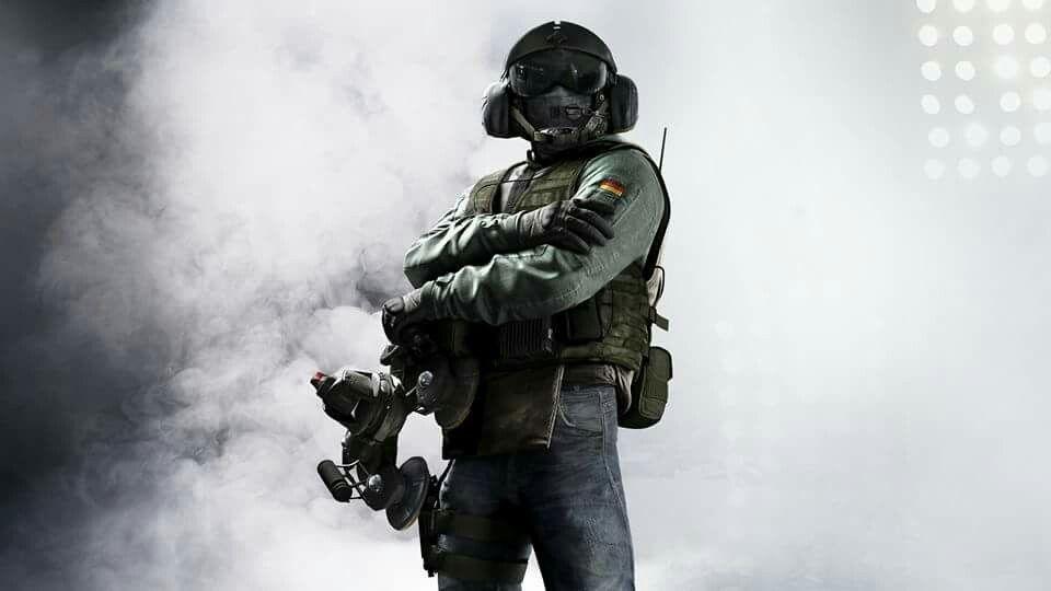 Jager in Rainbow Six Siege