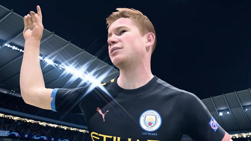 De Bruyne in FIFA 21