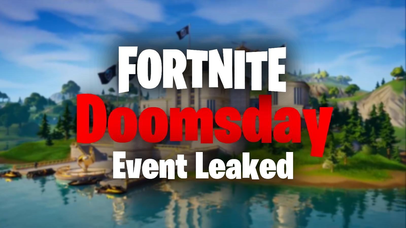 Fortnite Doomsday Event Countdown And New Details Leaked Dexerto Ttl | stw | fortnite leaks & news запись закреплена. fortnite doomsday event countdown and