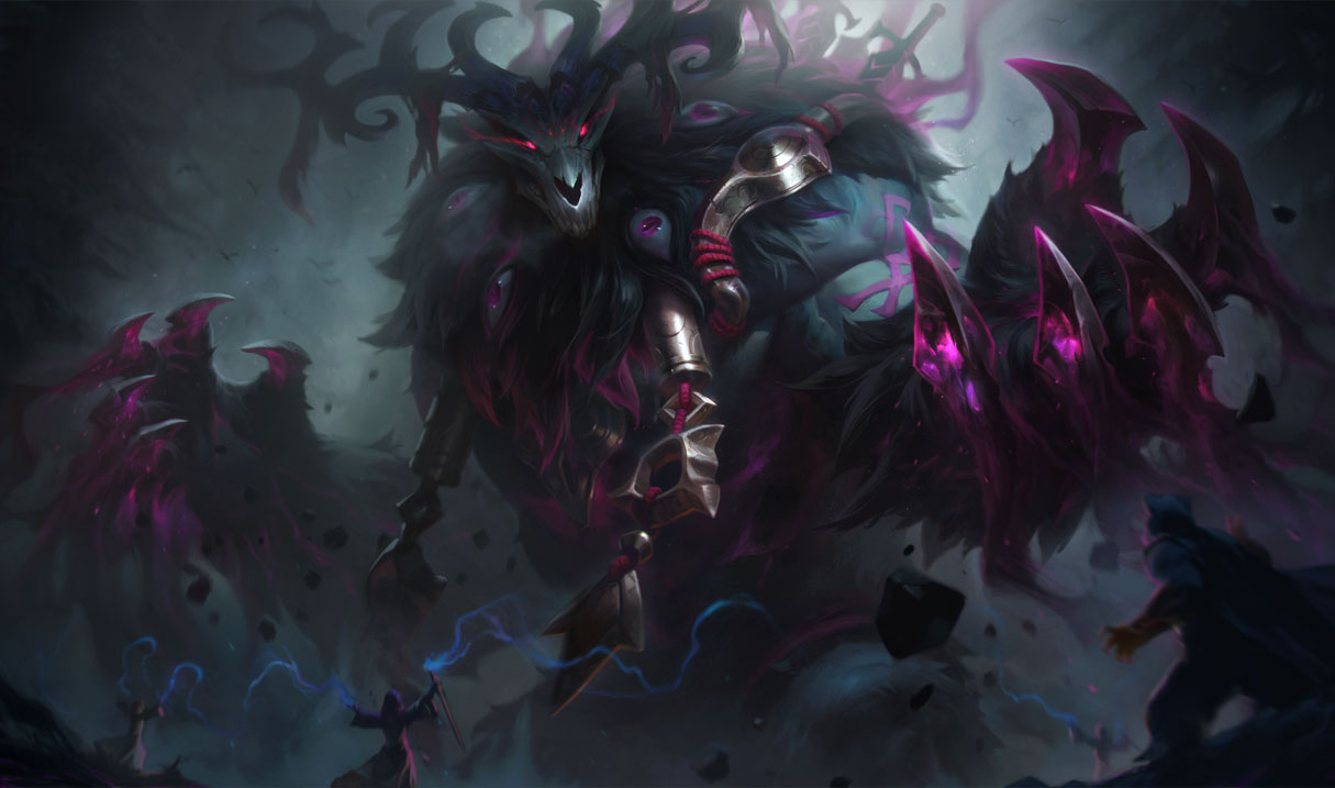 Thousand Pierced Volibear skin for League of Legends