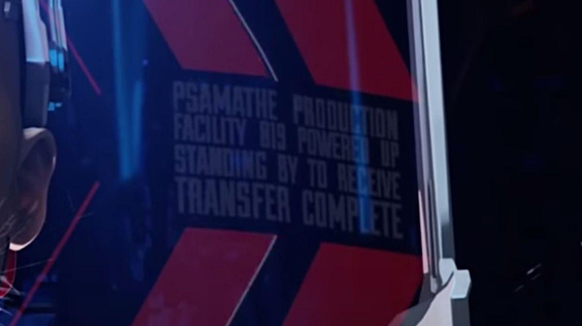 Psamathe written in Apex Legends trailer.