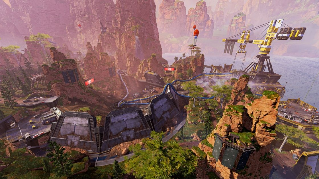 New Kings Canyon in Apex Legends Season 5
