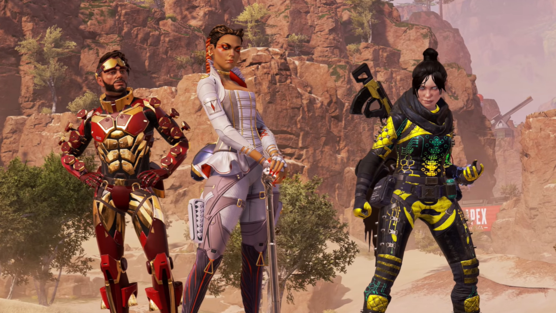 Apex Legends is more focused on character-vs-character combat than Titanfall ever was.