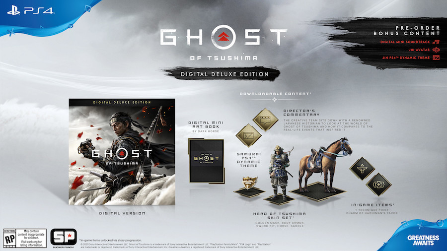 Ghost of Tsushima Digital Deluxe Edition