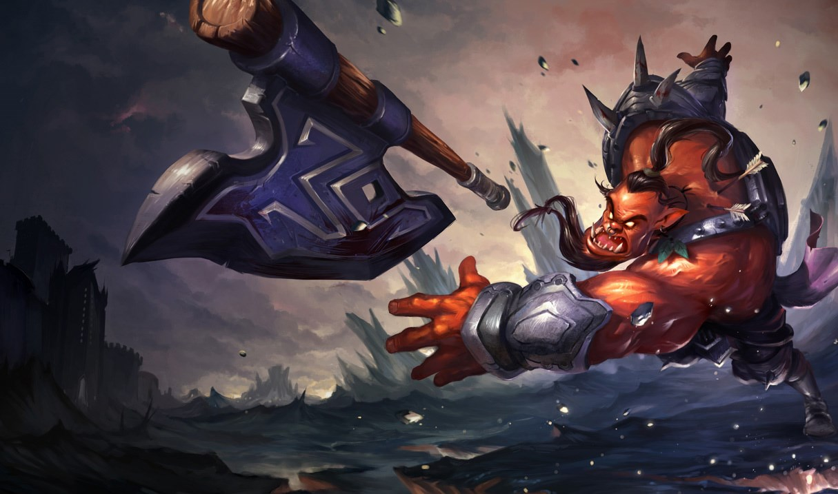 Dr Mundo's outdated splash arts and in-game graphics will get a modern tweak in the 2021 rework.