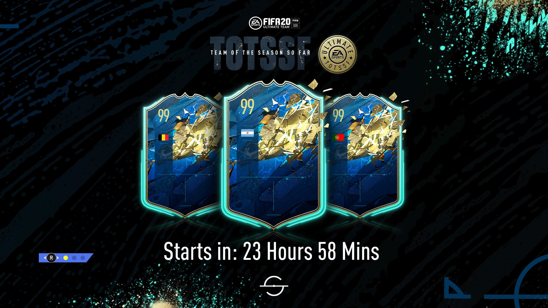The FIFA 20 Ultimate Team loading screen is now teasing the final Team of the Season (TOTS) So Far squad.