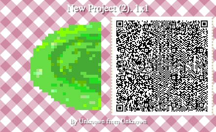 The left side of the portal QR code for Animal Crossing: New Horizons.