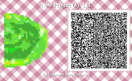 The right side of the portal QR code for Animal Crossing: New Horizons.