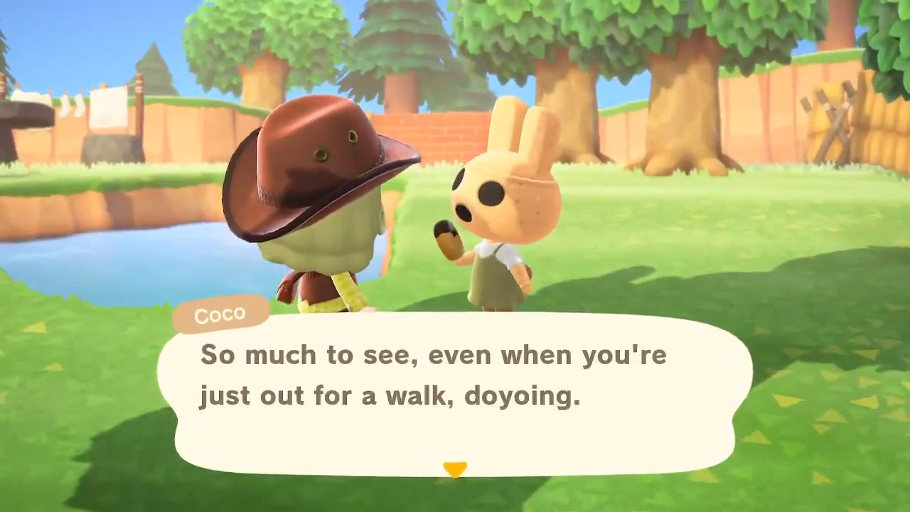 Animal Crossing: New Horizons' Coco is just a little bit weird.