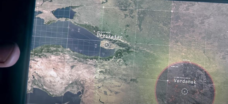 Season 4 trailer revealing Urzikstan as Warzone map.