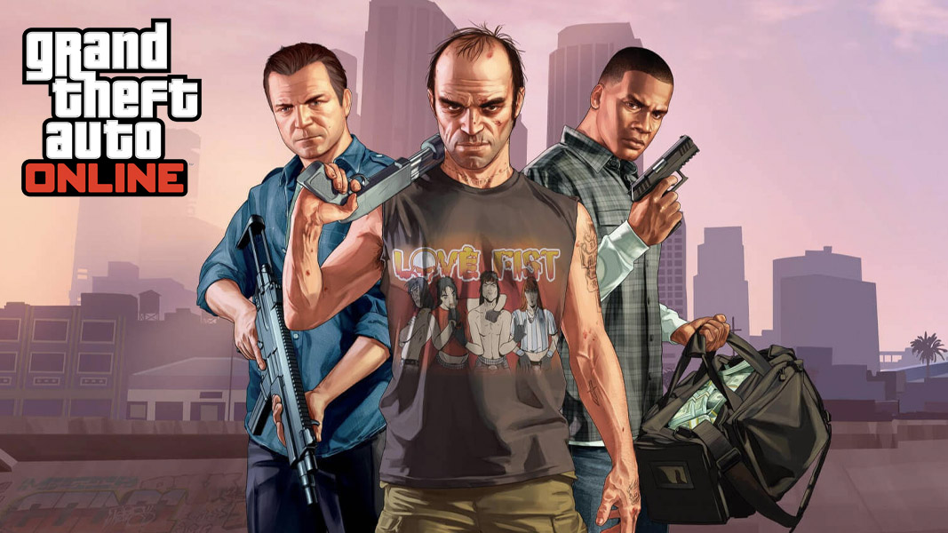 Grand Theft Auto Online's Characters: Michael, Franklin & Trevor
