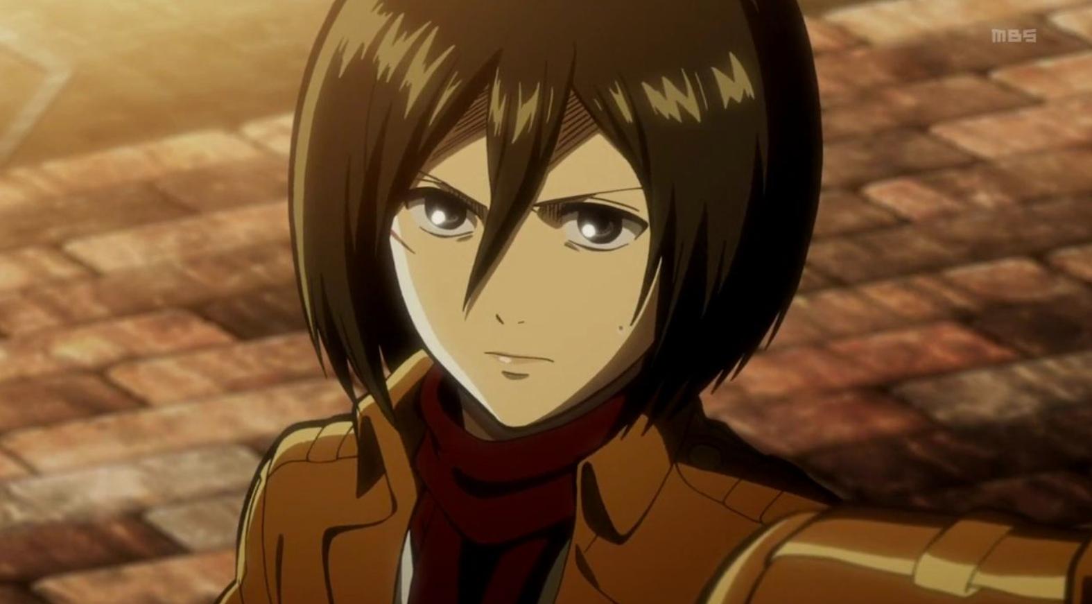 Mikasa Ackerman in Attack on Titan