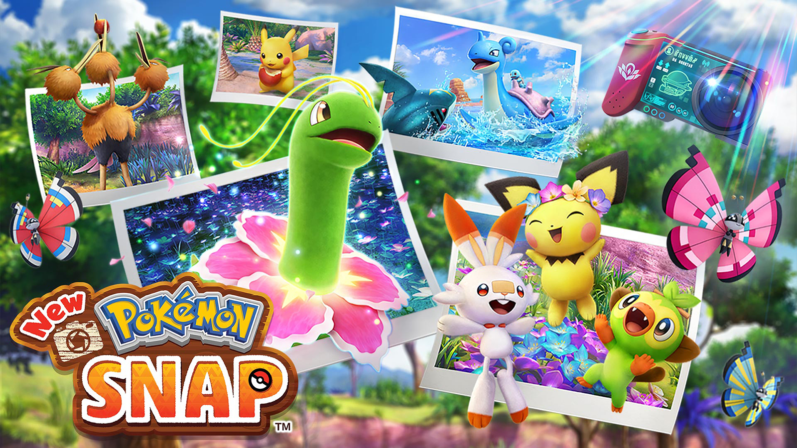 New Pokemon Snap on Nintendo Switch