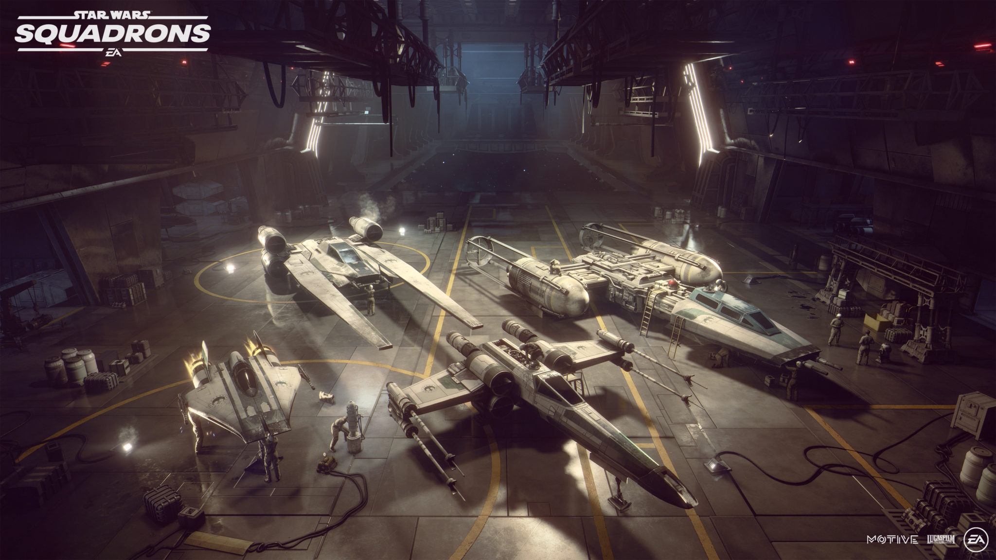 Star Wars: Squadrons will feature VR support for PC and PSVR.