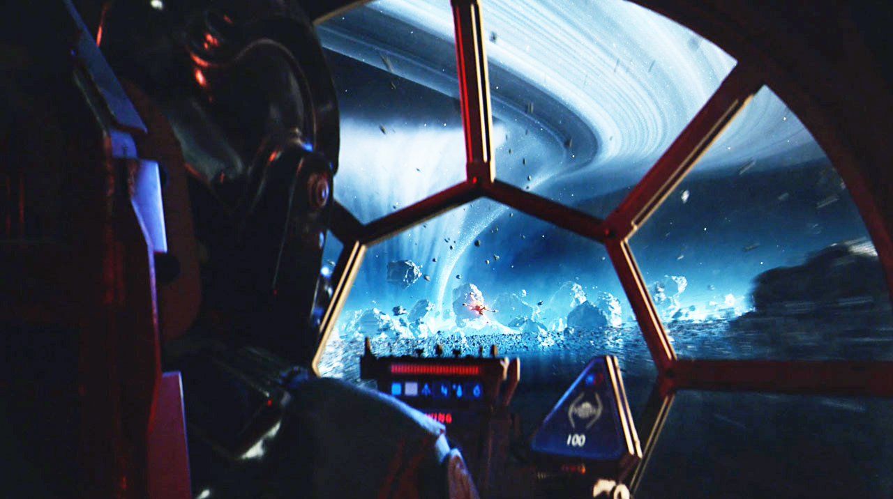 You'll be able to play with your friends, no matter the system, in Star Wars: Squadrons.
