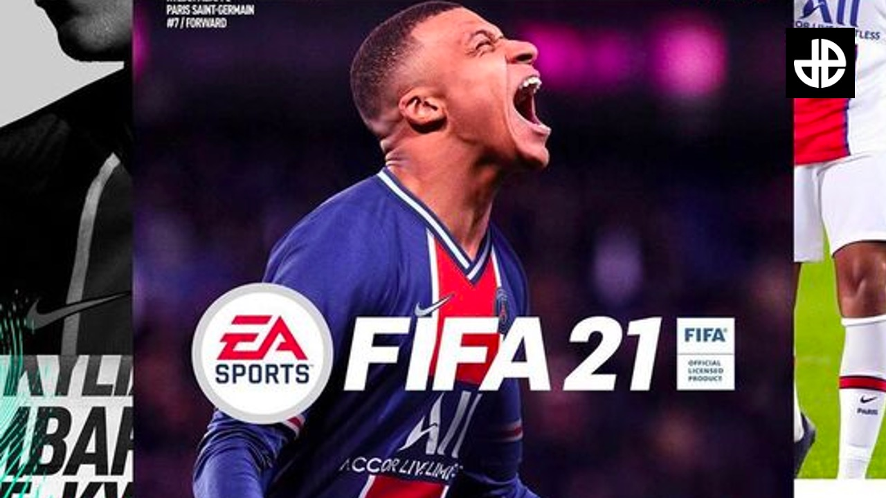 Mbappe cover of FIFA 21