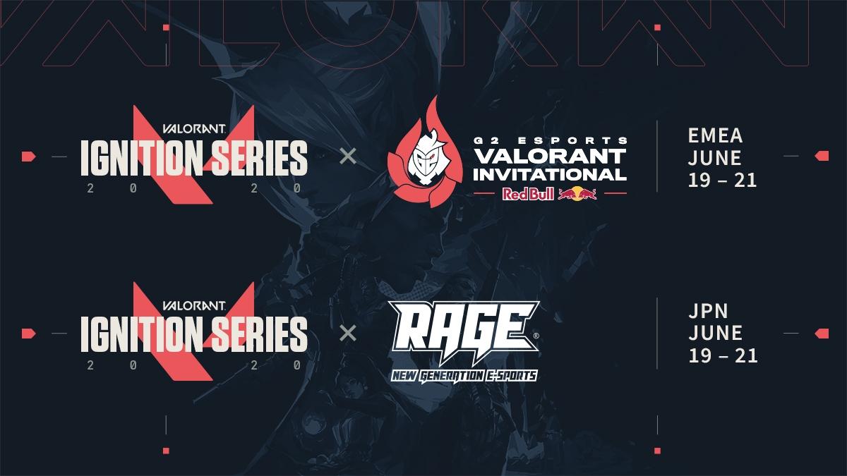 Valorant Ignition Series dates.