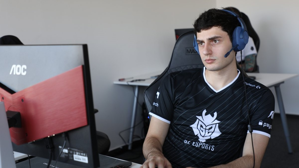 Mixwell for G2 Esports.