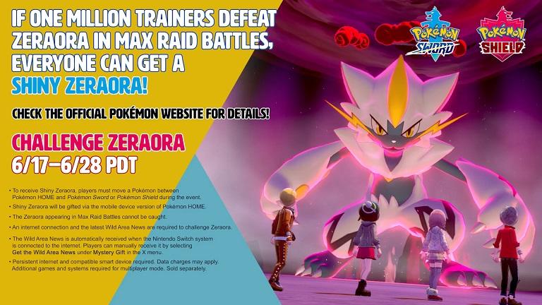 Pokemon Sword Shield Zeraora Bonus