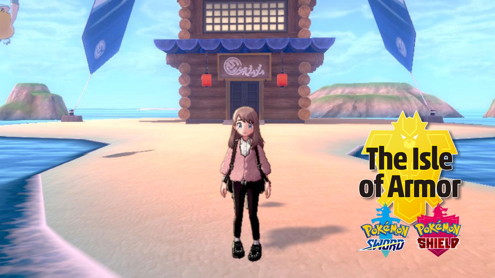 pokemon isle of armor tower