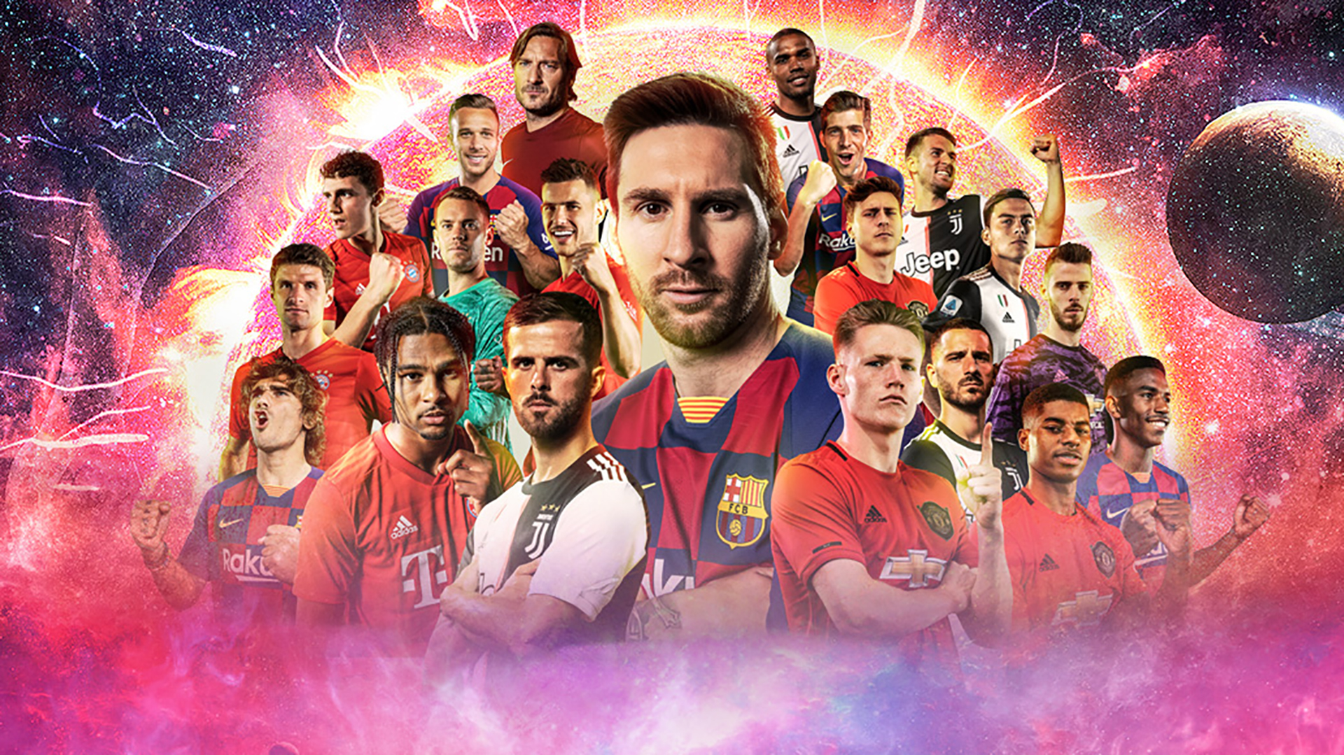 Konami is adding more and more starpower to their PES franchise every year.