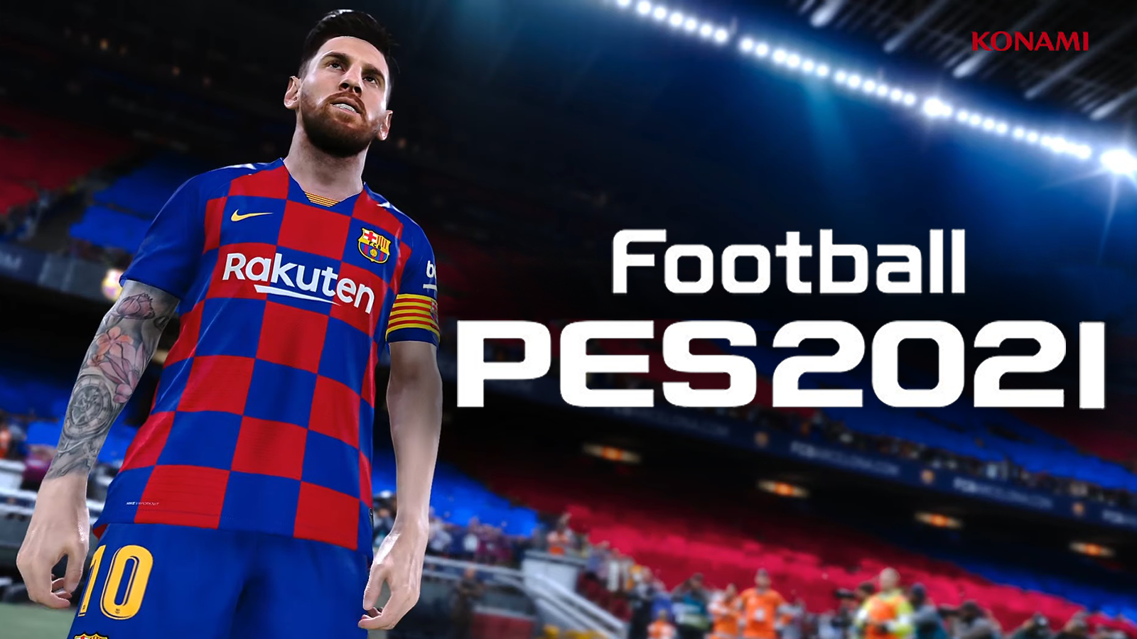 Barcelona superstar Lionel Messi is expected to appear on the cover of PES 2021 as part of his club's four-year deal.