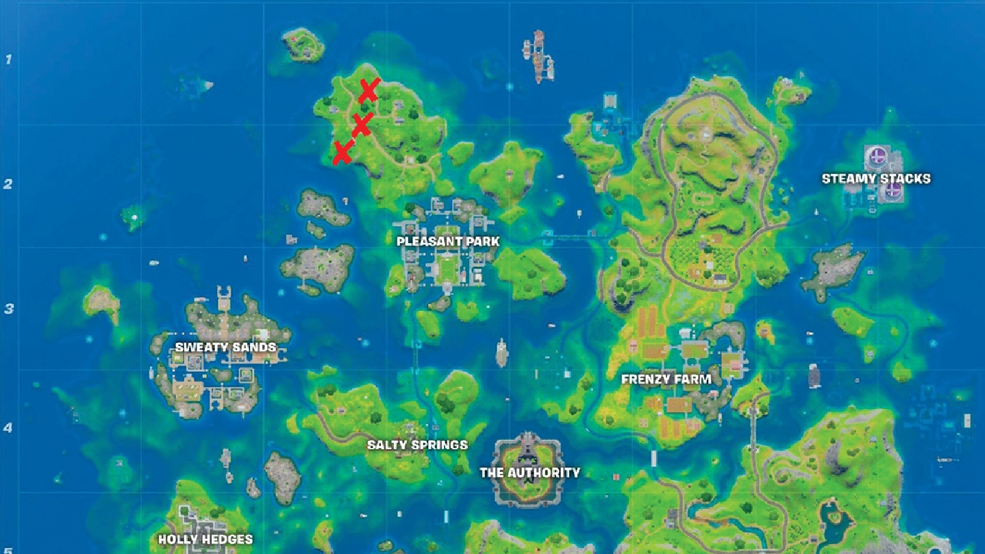 gnome locations on the fortnite map