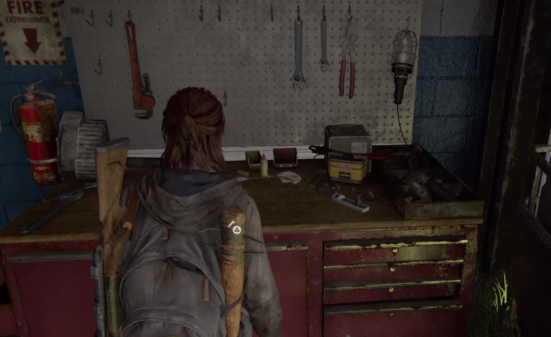 To upgrade your weapons in The Last of Us Part 2, you need to visit a workbench.