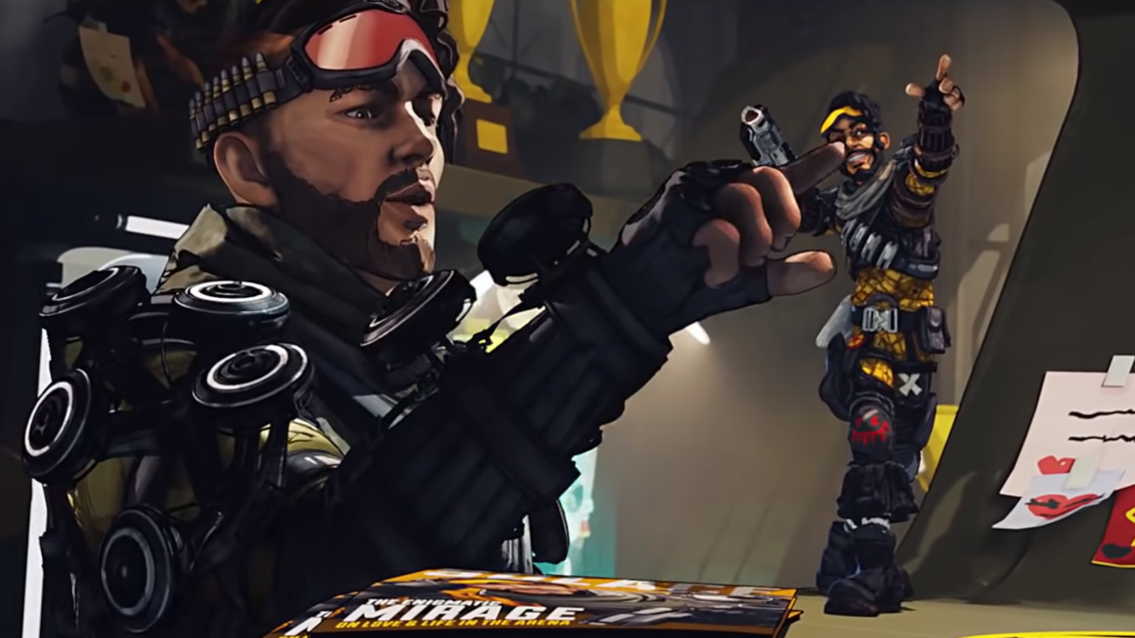 Respawn have admitted Mirage's successful rework has opened the door for more Apex Legends overhauls in the future.