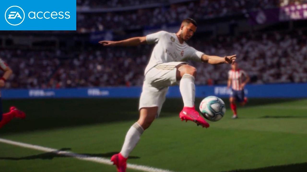 Eden Hazard in FIFA 21