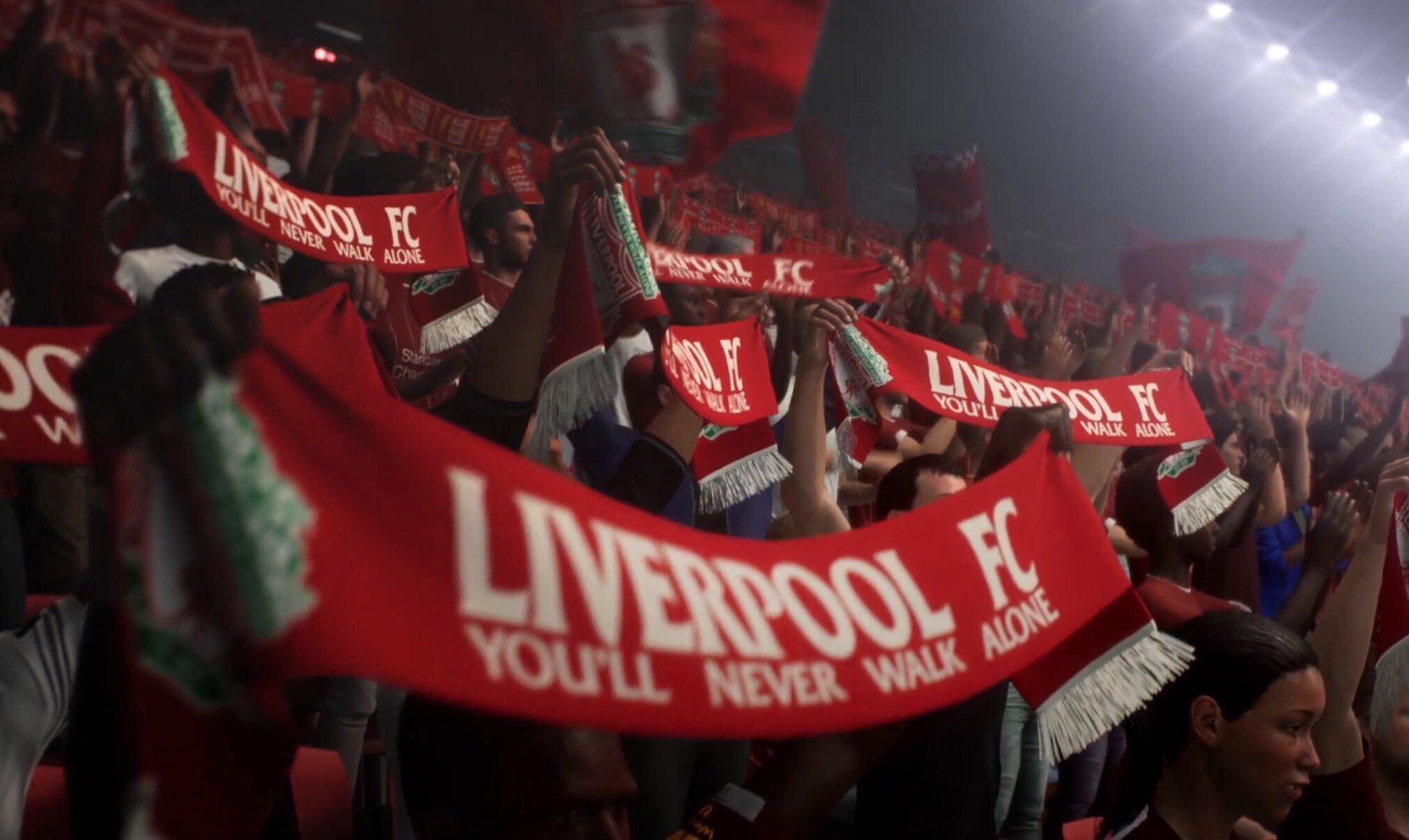 FIFA 21 Anfield stadium