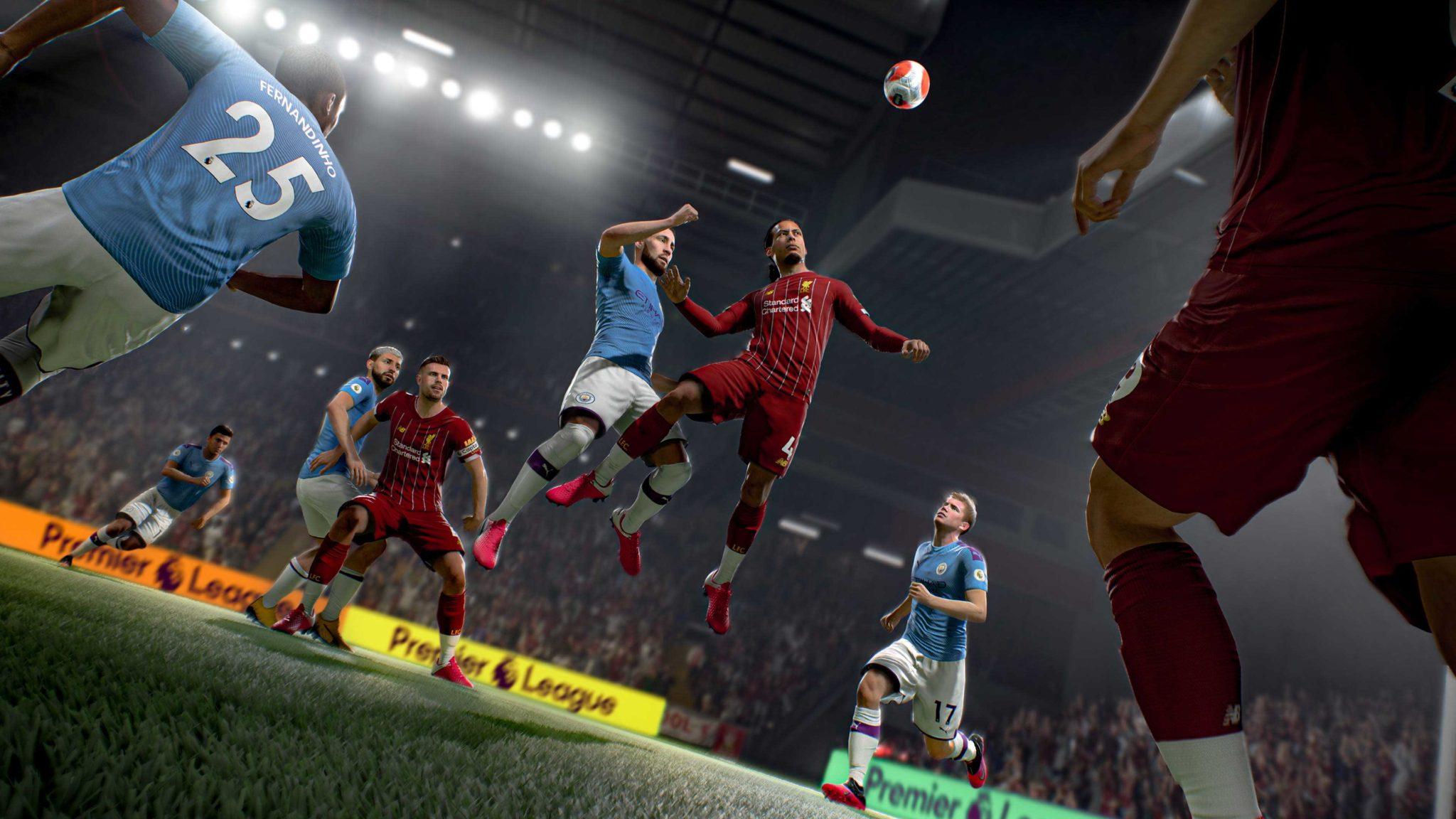 Virgil van Dijk in FIFA 21