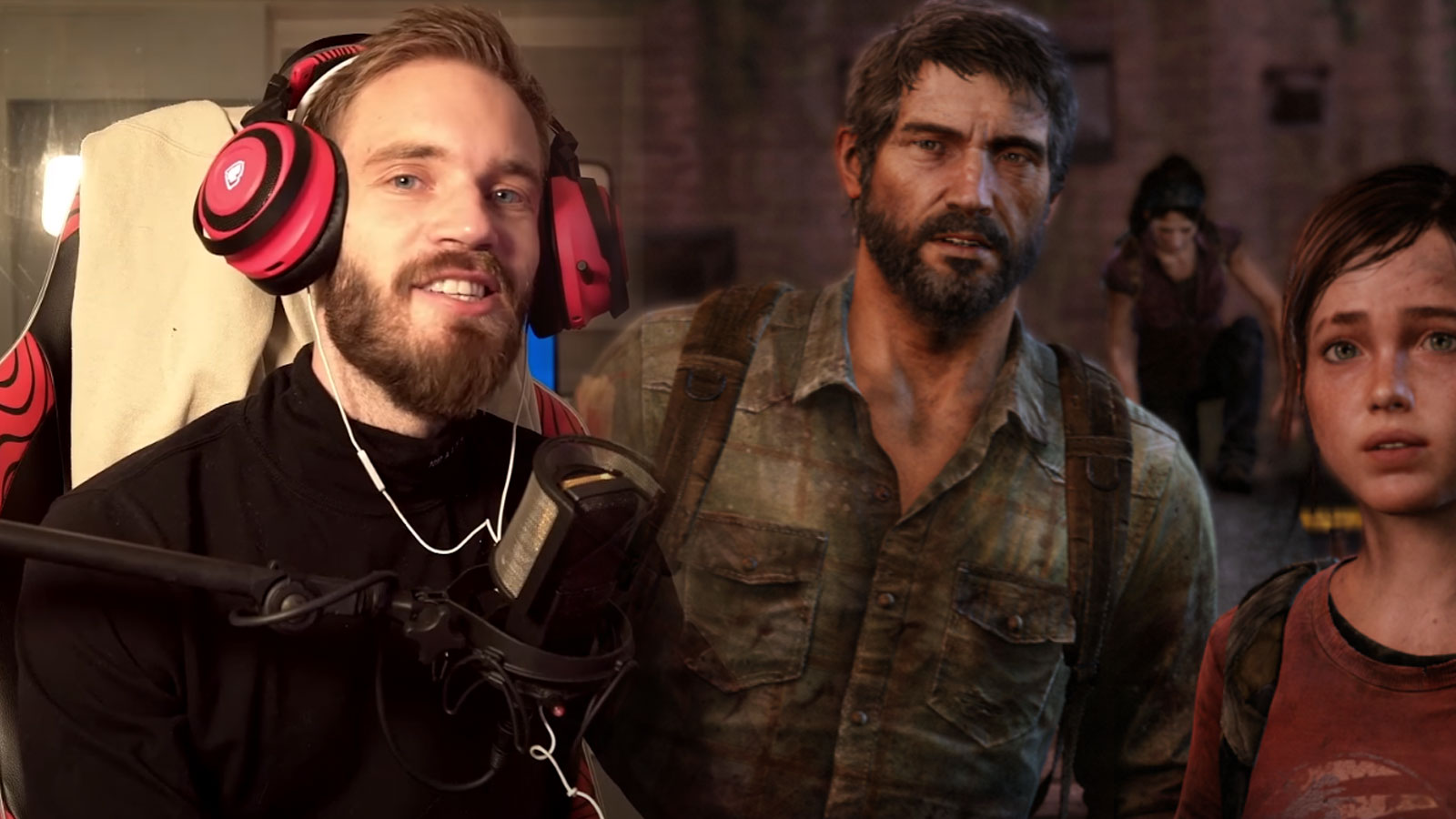 pewdiepie the last of us