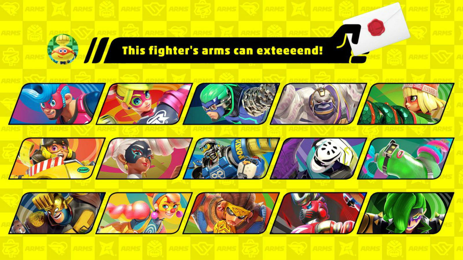 The cast of ARMS joining the Smash Ultimate roster.
