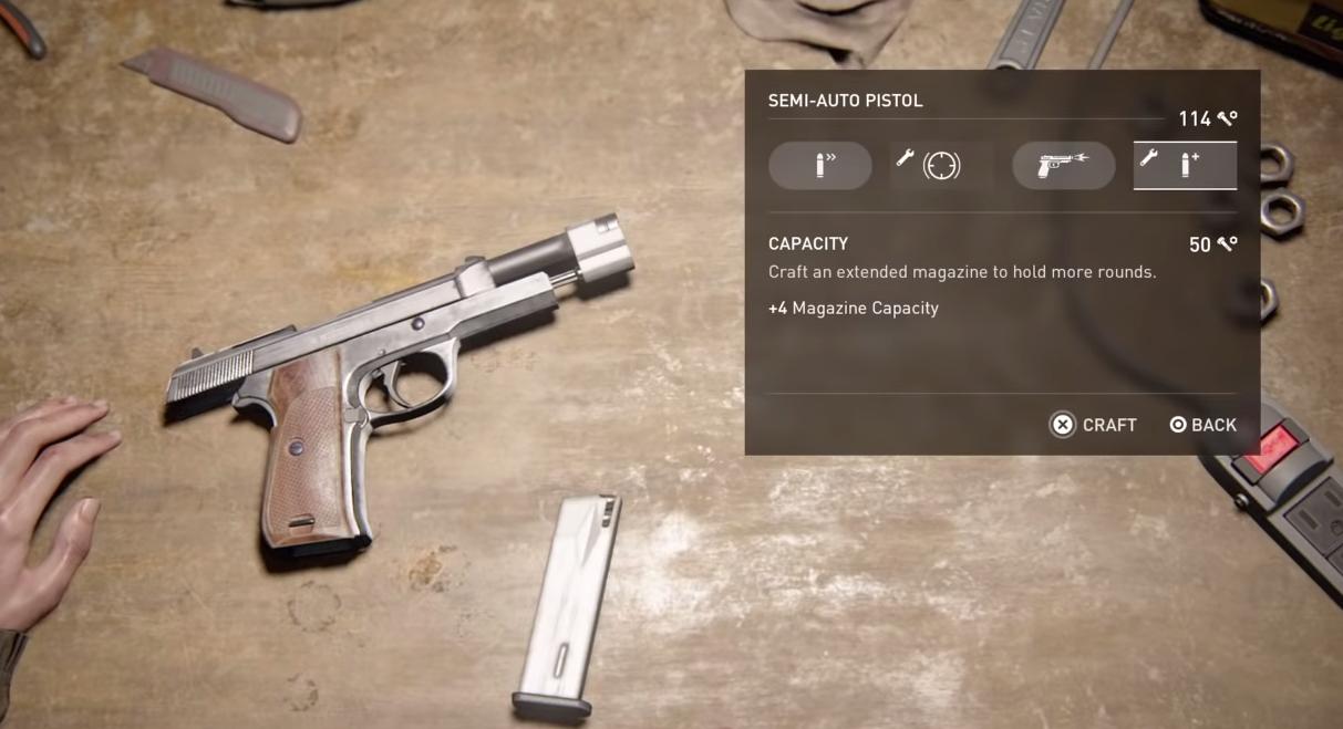 Upgrading the Semi-Auto Pistol's capacity is a good idea.