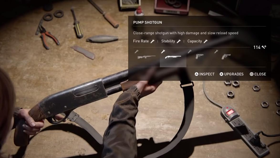The Pump Shotgun is a powerful weapon, even sans upgrades.