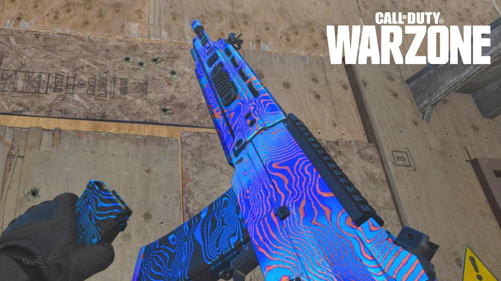 The Grau with Damascus Camo in Warzone