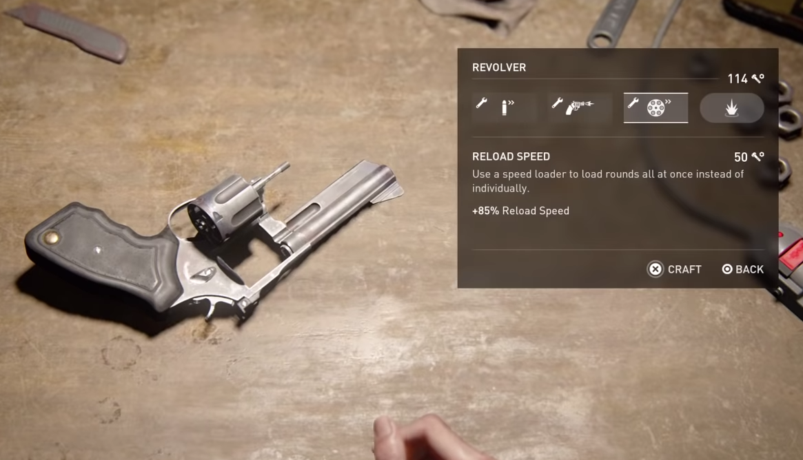The Revolver is great for firepower and versatility.