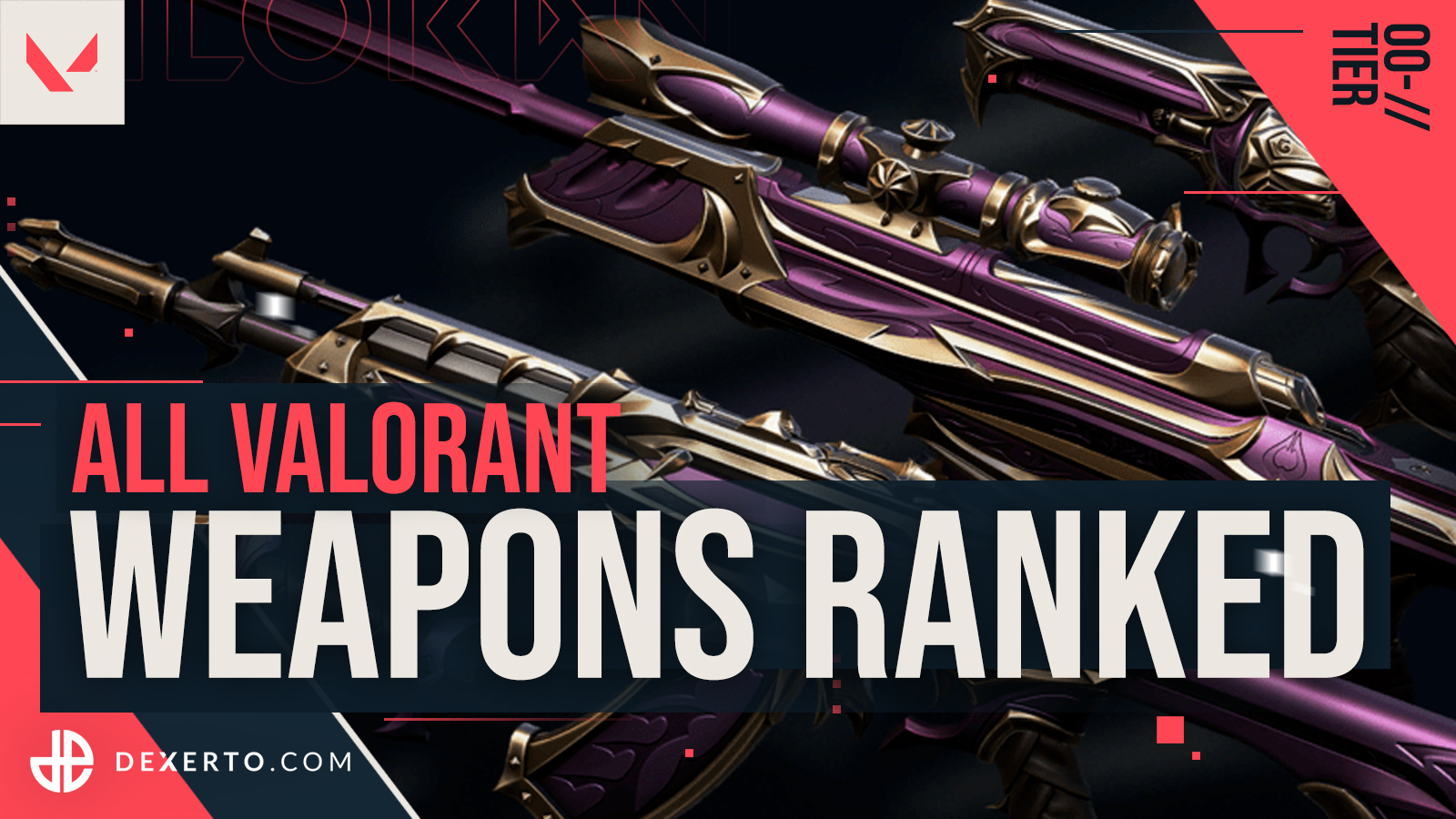 Best weapons to use in Valorant: Every gun ranked