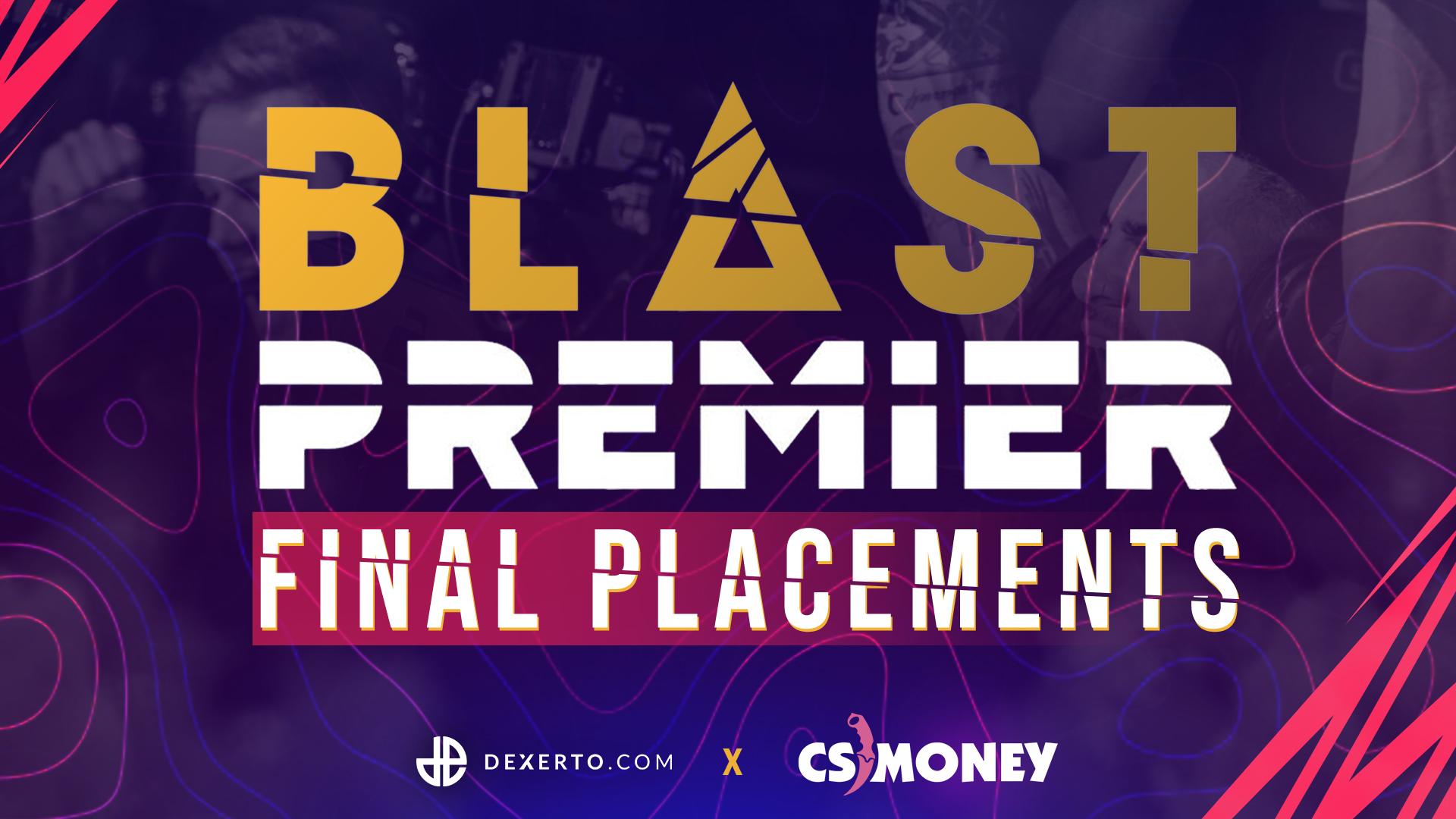 BLAST Premier Spring Finals Final Placements