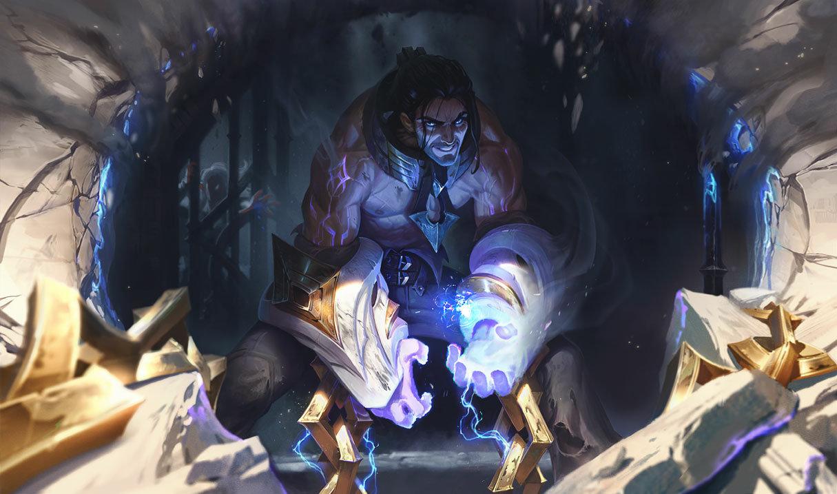 Sylas splash art for League of Legends