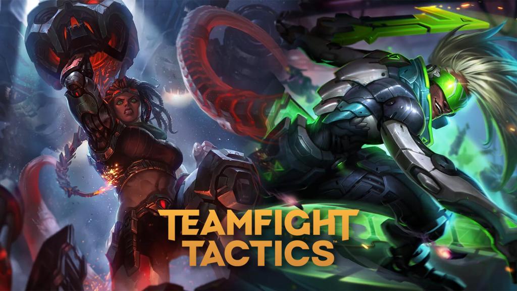 Battlecast Illaoi and Project Ekko in League of Legends