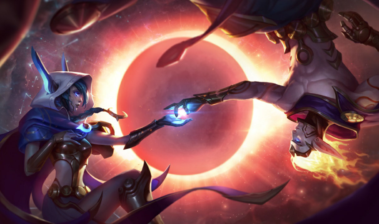 Star Guardian Xayah and Rakan in TFT