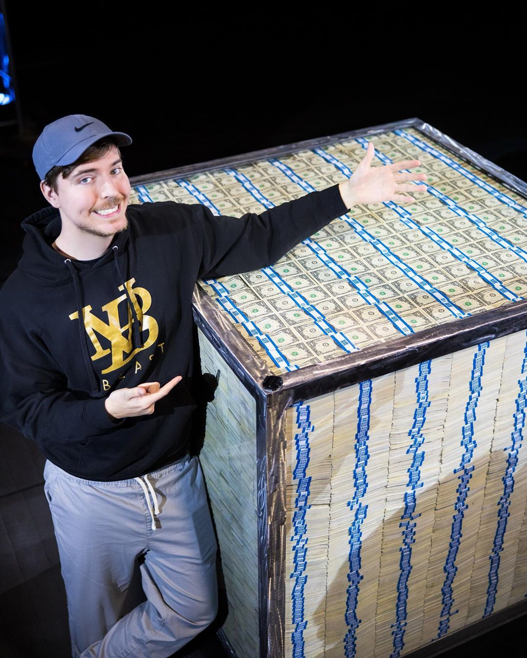 Mr Beast gives away millions of dollars