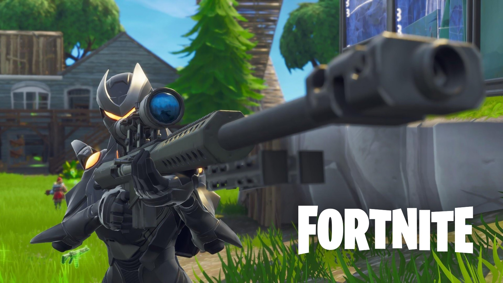 Fortnite sniping