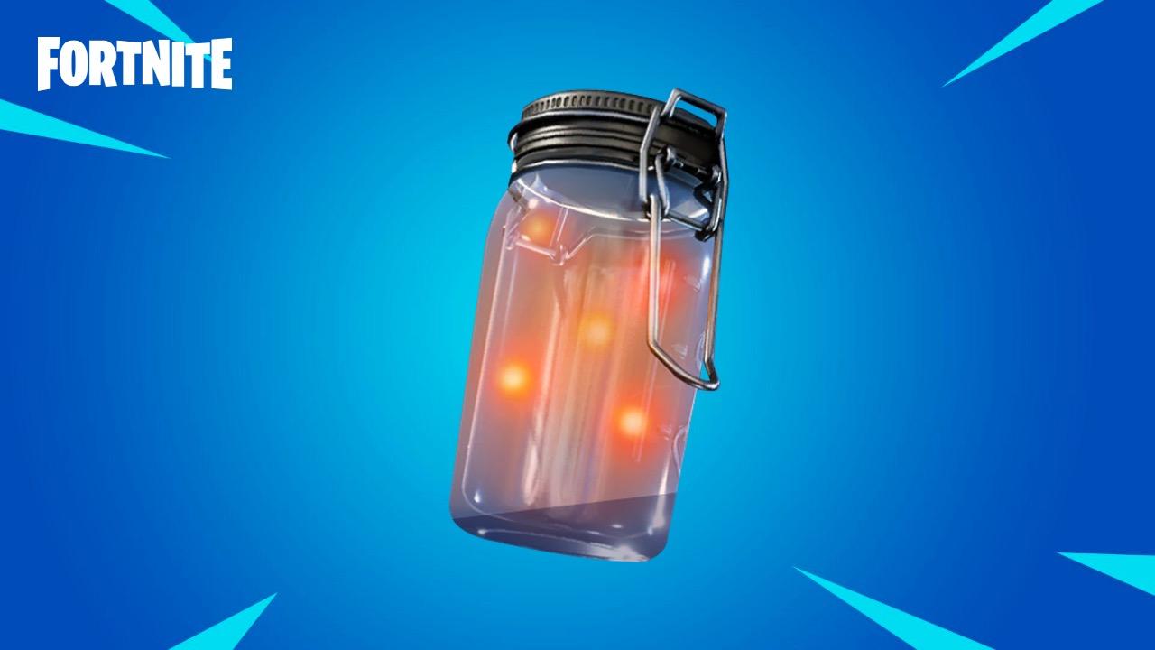 Fortnite Firefly Jar item in Season 3