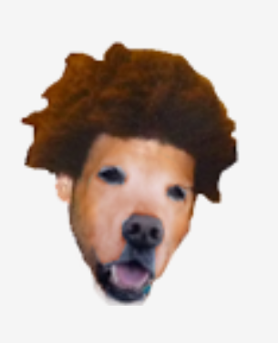 A modified Trihard dog emote from Alecludford