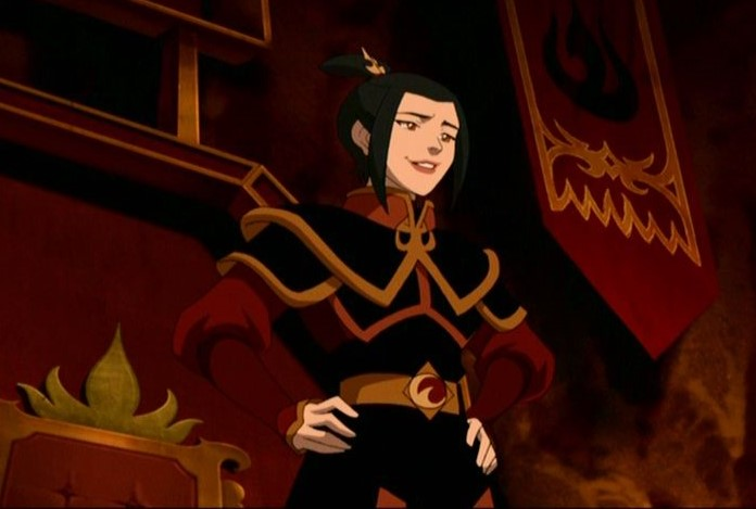 Fire Nation princess Azula is confidence and self-assured in Avatar: The Last Airbender, and she backs that up with her fearsome firebending powers.