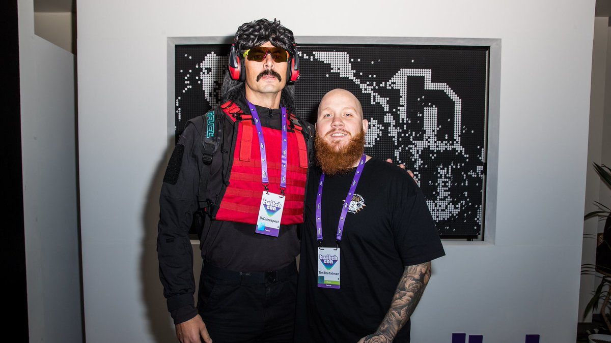timthetatman and dr disrespect at twitchcon
